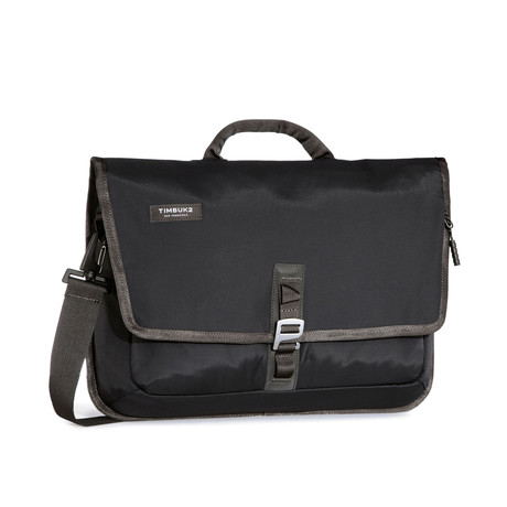 Transit Briefcase // Jet Black