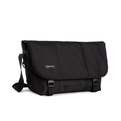 Classic Messenger // Jet Black (Medium)