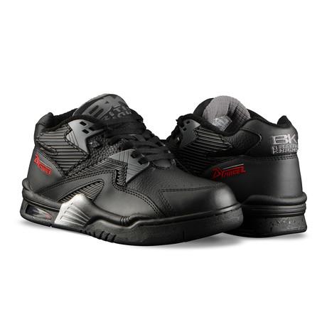 Control Mid Sneaker // Black + Charcoal (US: 7)