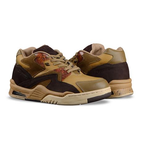 Mono Mid Sneaker // Peanut Butter + Tawny + Mud + Gum (US: 7)