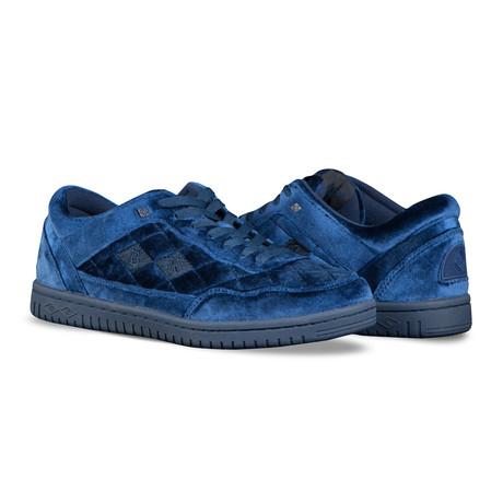 Quilts Sneaker // Navy