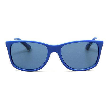 Emporio Armani // Stetson // Electric Blue + Grey