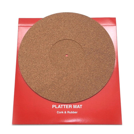 Platter Mat Cork (With Rubber)