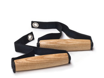 Photo of NOHrD Sustainable Wood Fitness Gear Wood Pull Grips (Ash) by Touch Of Modern