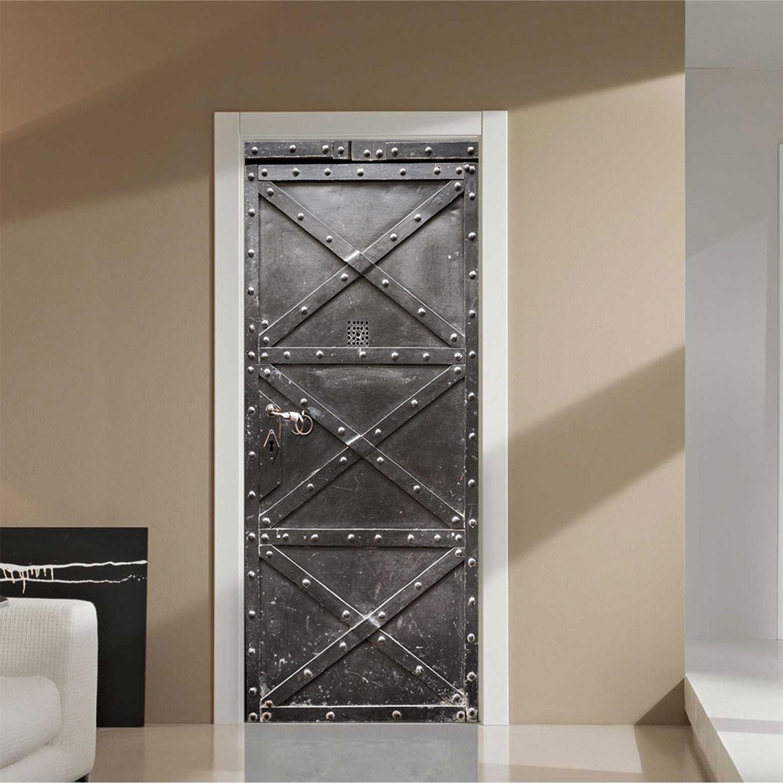 Metal Safe // Door Mural