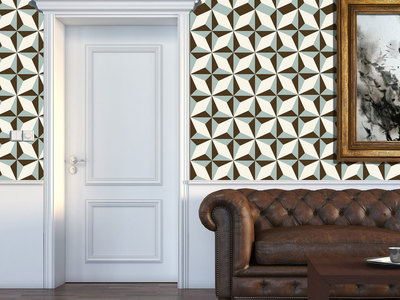 Photo of Walplus High-Impact Wall Murals North Star Pattern // Set of 6 by Touch Of Modern