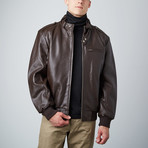 Members Only Jacket // Brown (M)
