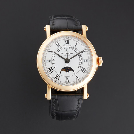 Patek Philippe Retrograde Moonphase Automatic // 5059J // Pre-Owned