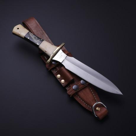 D2 Bone + Buffalo Horn Pugio Dagger