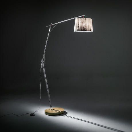 Woody Floor Lamp // White