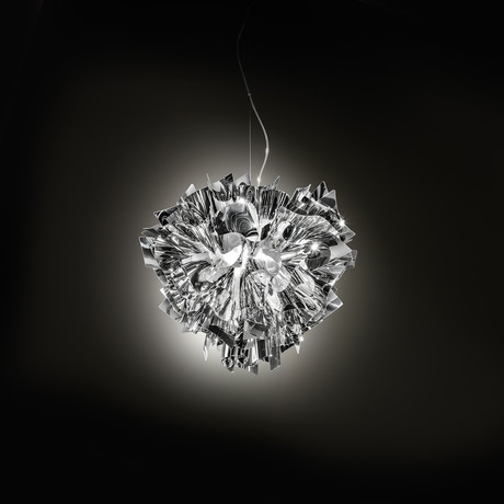 Veli Ceiling-Wall Lamp // Silver (Mini)