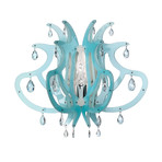 Medusa Suspension Lamp (Blue + Gel)