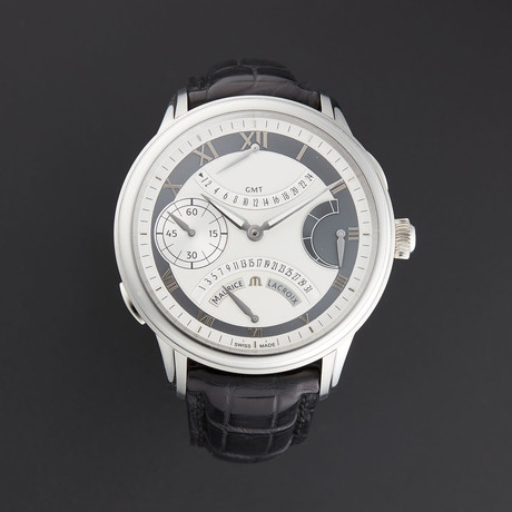 Maurice Lacroix Masterpiece Double Retrograde Automatic // MP7218-SS001-110 // Unworn