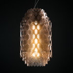 Chantal Suspension Lamp // Orange (Small)