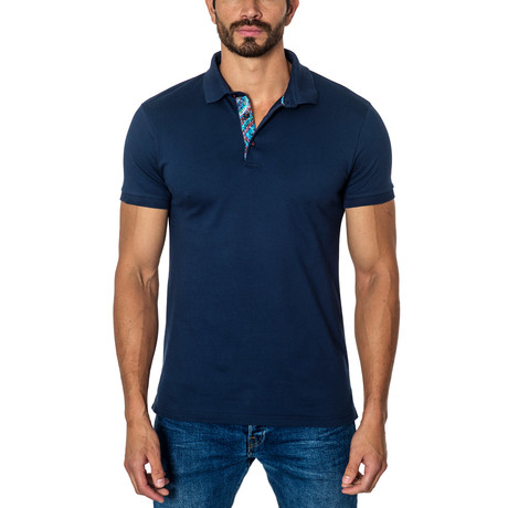 Short-Sleeve Polo // Navy (S)