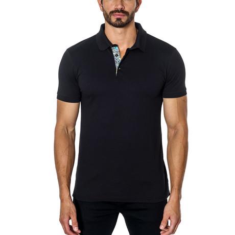 Short-Sleeve Polo // Black