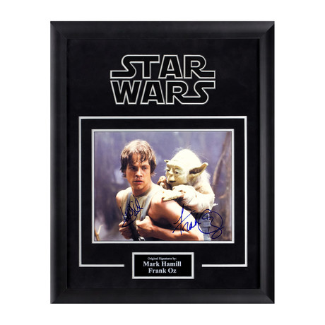 Signed Artist Series // Luke Skywalker + Yoda