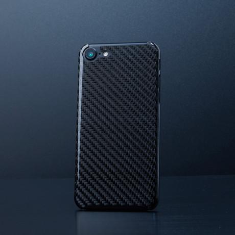 Black Carbon Fiber Case // iPhone 7 (iPhone 7)