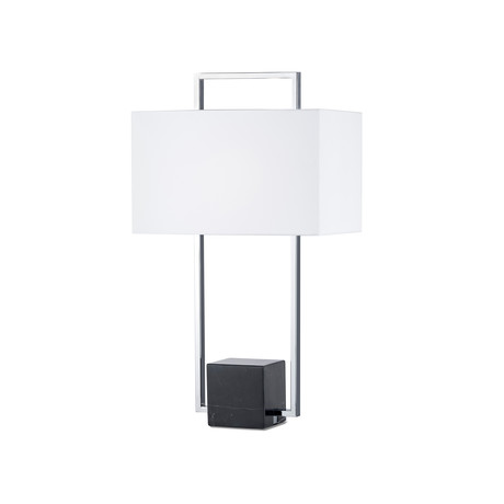 Stratum Table Lamp // Chrome