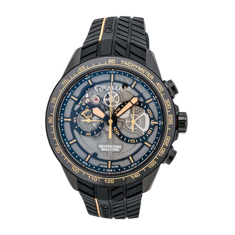 Graham Silverstone RS Skeleton Chronograph Automatic // 2STAB.B09A // Store Display