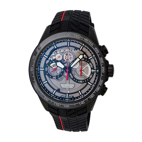 Graham Silverstone RS Skeleton Chronograph Automatic // 2STAB.B01A // Store Display