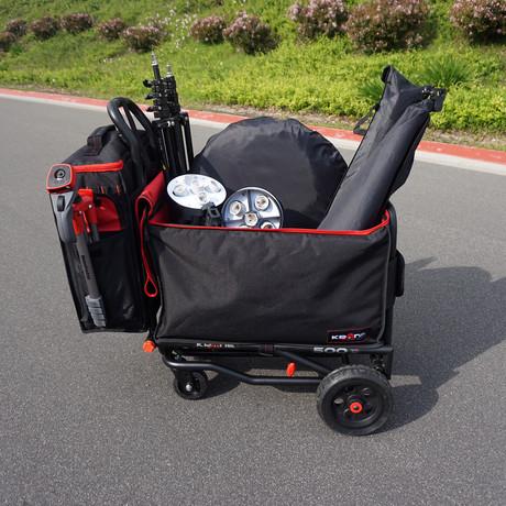 Attachable Covered Wagon Bin