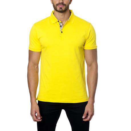 Short-Sleeve Polo // Yellow (S)