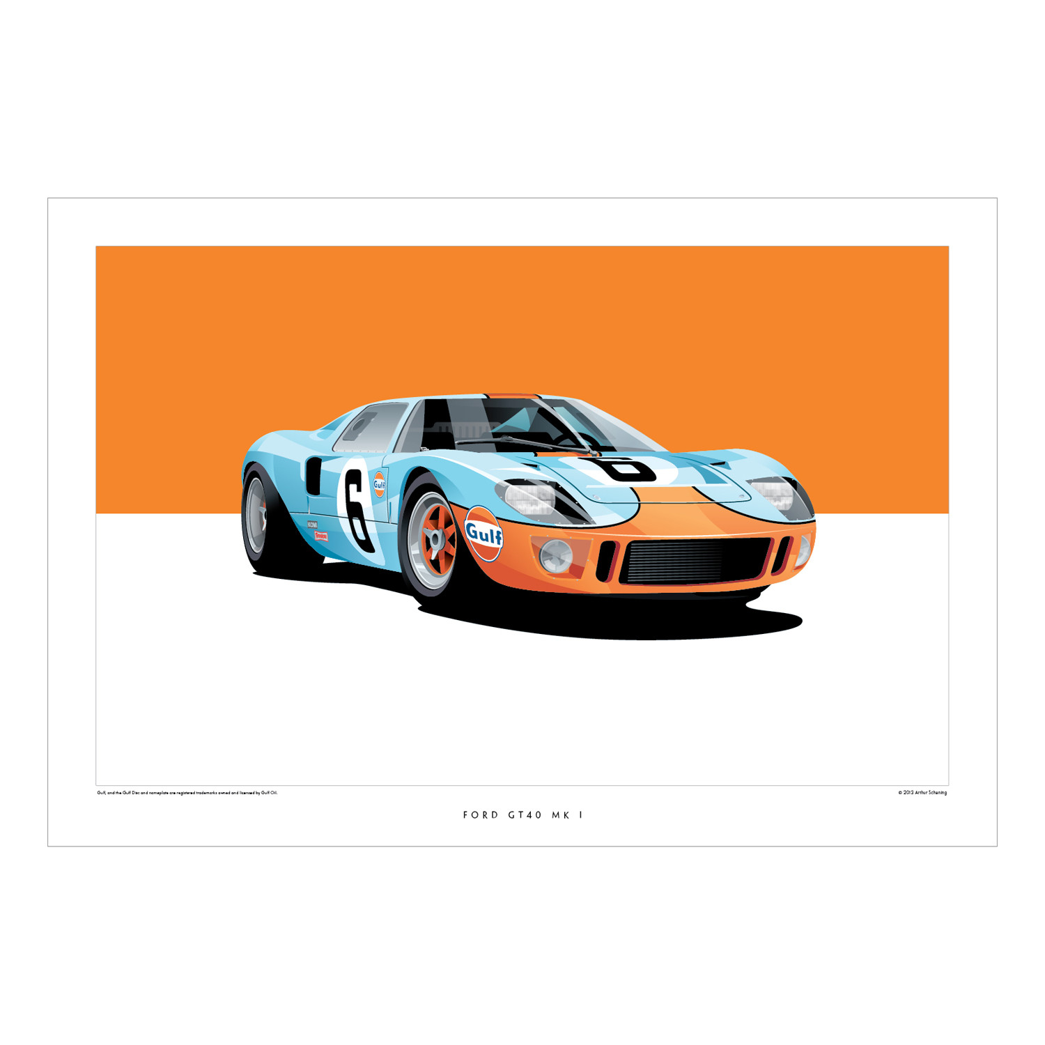 Ford GT40 Mk1 - ScheningCreative - Touch of Modern