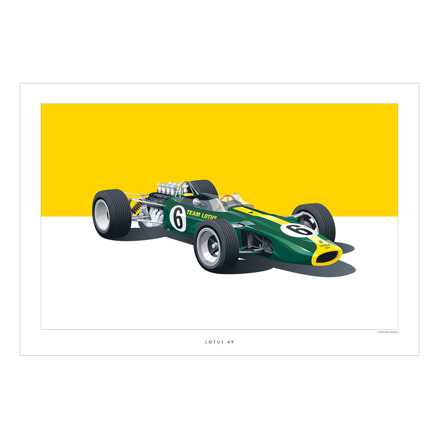 Lotus 49 - The Art Sale - Touch of Modern