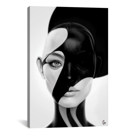 """Black Mask (26""""W x 18""""H x 0.75""""D)"""