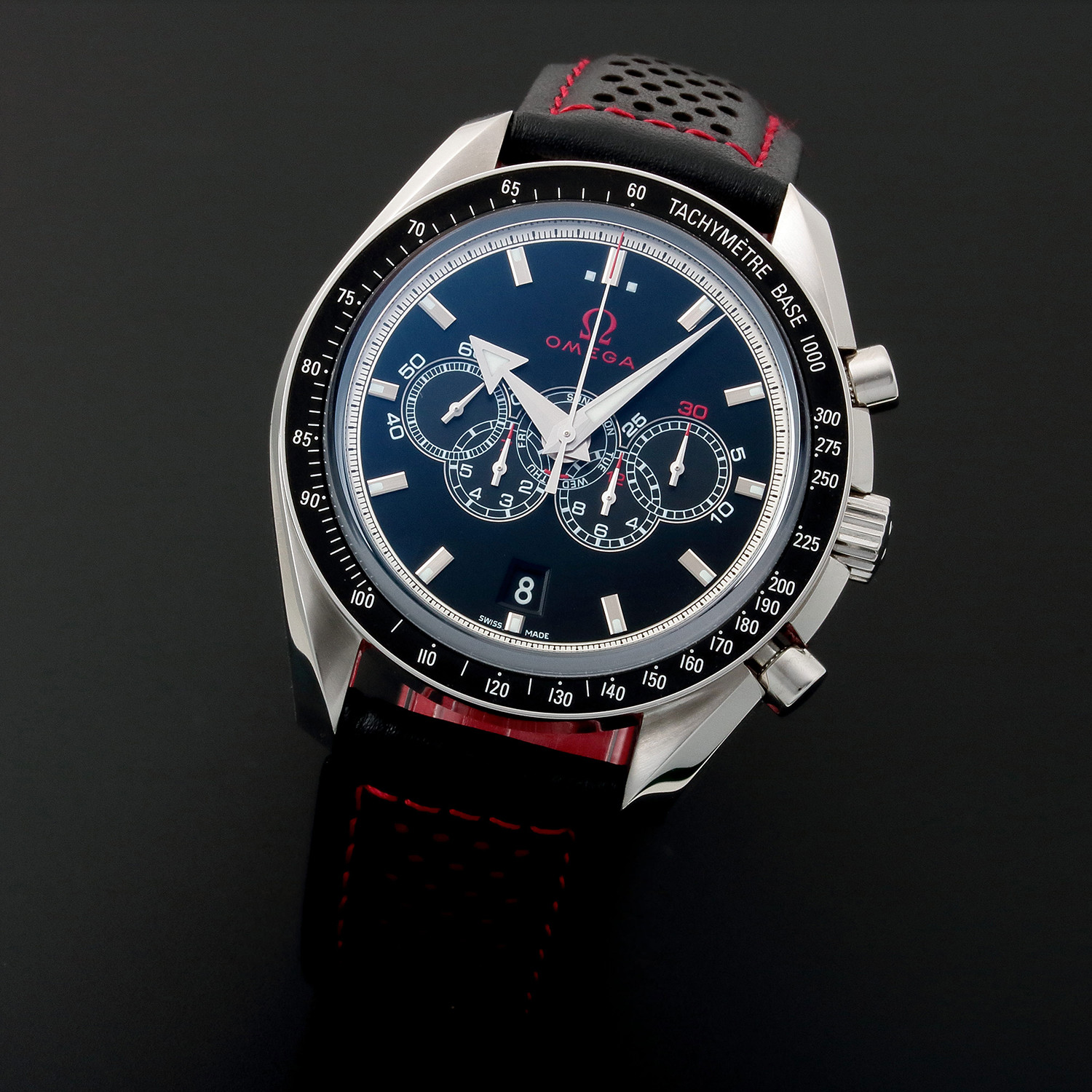 852777494d2 Omega Speedmaster Co-Axial Date Automatic    32133    Pre-Owned ...
