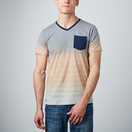 Fletcher Short-Sleeve Knit // Navy