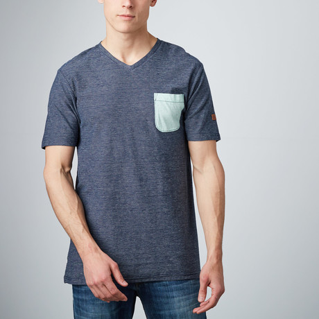 Sculpting T-Shirt // Indigo