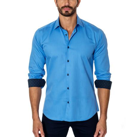 Long-Sleeve Button-Up // Sky Blue