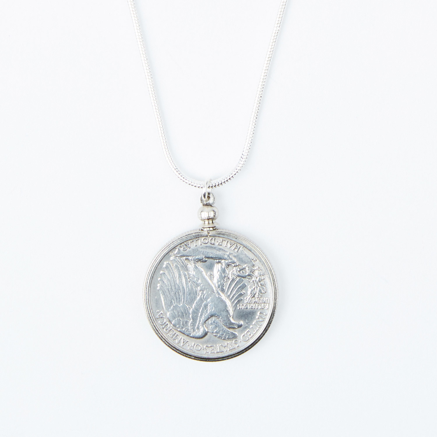 Walking Liberty Coin Necklace