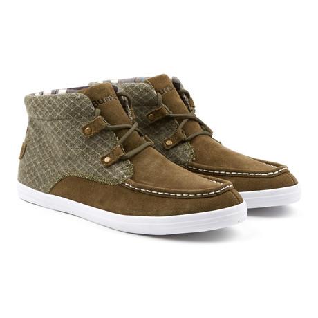 Mid Mark Sneaker // Olive (Euro: 41)