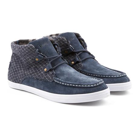 Mid Mark Sneaker // Blue