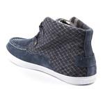 Mid Mark Sneaker // Blue (Euro: 45)