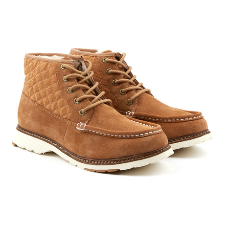 Casual Mid Sneaker // Light Brown (Euro: 41)