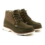 Casual Mid Sneaker // Olive (Euro: 43)