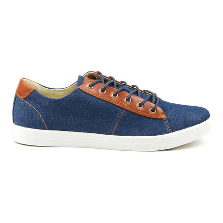 Damm Denim Low-Top Sneakers // Blue (Euro: 41)