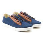 Damm Denim Low-Top Sneakers // Blue (Euro: 41)
