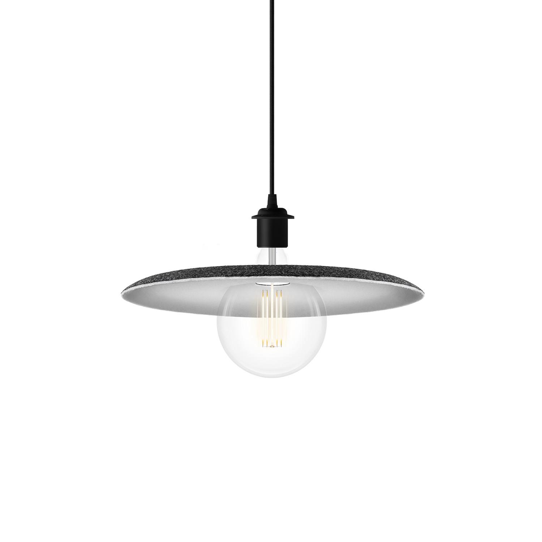 Shade Pendant + LED Bulb (Plug-In) - Vita