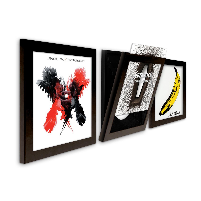 Record Frame // Triple Pack (White) - Art Vinyl - Touch of Modern