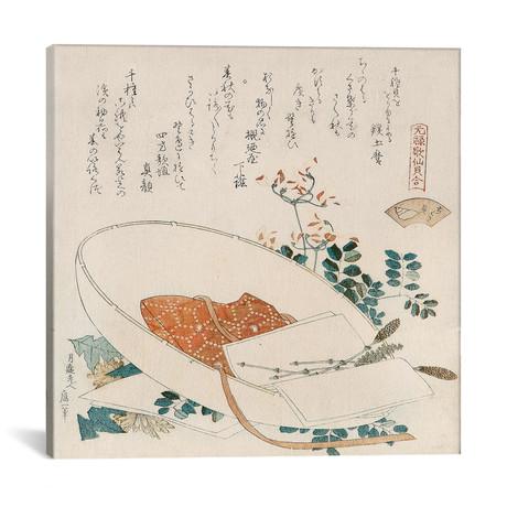 "Myriad Grasses Shell (Chigusagai) (12""W x 12""H x 0.75""D)"