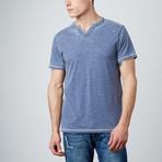 Short-Sleeve V-Neck // Indigo (S)