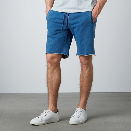 Knit Denim Short // Indigo (S)