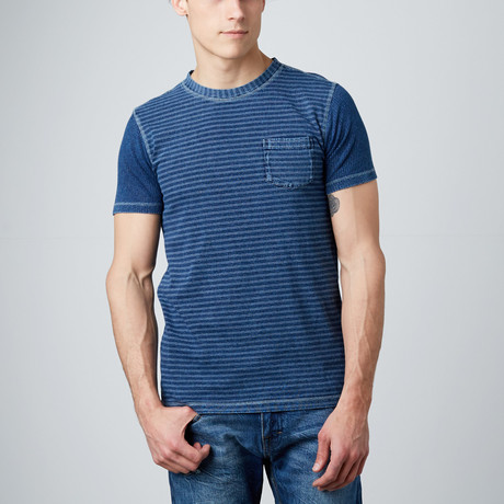 Sailor Stripe Tee // Indigo
