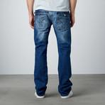 Straight Leg Jean // Dark Blue (29WX32L)