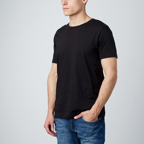 Combed Cotton Tee // Black (S)